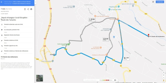 Plans d'accès - Aliette et Paris